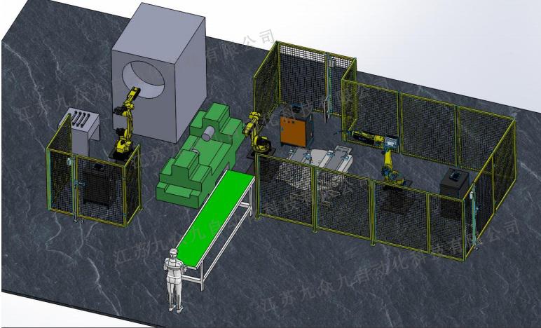 焊接机器人,激光切割机器人示例